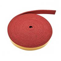 Резина прижимной балки (красная) 6х20 на клеевой основе