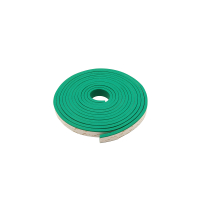 Резина прижимной балки зеленая 6х20 на клеевой основе