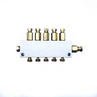 Распределитель смазки латунный 622160679 сверлильно-присадочного станка с ЧПУ KDT KN-2309