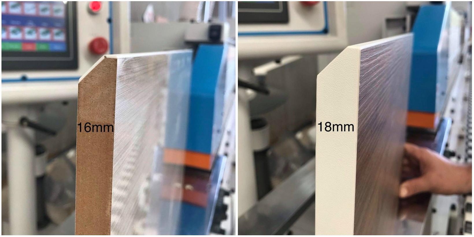 частичный эффект 16 мм и 18 мм
