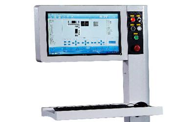 Пульт управления станком со сканером